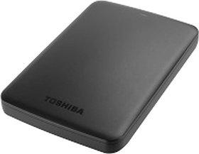 Toshiba Canvio Basic 2 TB External Hard Disk Drive  (Black) -1