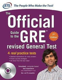 GRE the Official Guide to the Revised General Test  (English, Paperback, Educational Testing Service)