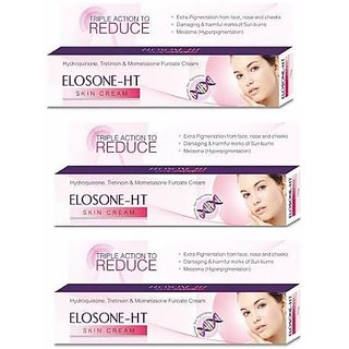 Elosone-Ht Cream Remove Dark Spots (pack of 3 pcs.)  25 gm each