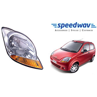 Shop Dkmax Car Crystal Headlight Assembly Right Chevrolet Spark