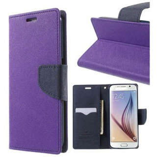 Micromax Canvas HD A116 Flip Cover By    Purple available at ShopClues for Rs.245