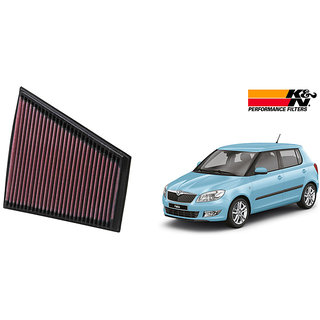 K&N Stock Replacement Air Filter - Skoda Fabia Petrol 1 6