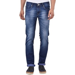 Blue Buddha Men'S Heavy Washed Narrow Fit Jeans