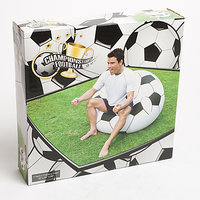 BESTWAY BEANLESS BAG CHAIR INFLATABLE CHAIR IN FOOTBALL SHAPE & DESIGN BRAND NEW
