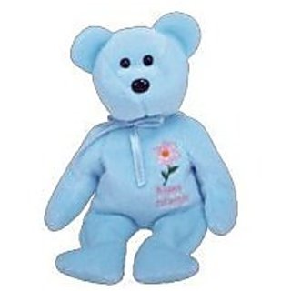 TY Beanie Baby - BRITISH COLUMBIA PACIFIC DOGWOOD The Bear (Canada Show Exclusive)
