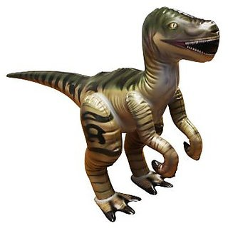 Jet Creations Inflatable Velociraptor Dinosaur Jr