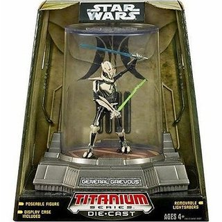 Star Wars: Titanium Series 4 General Grievous Action Figure