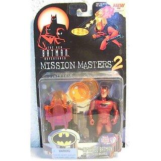Batman: The New Batman Adventures Mission Masters 2 ≫ Infrared Batman Action Figure