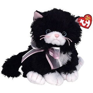 Ty Beanie Babies Cabaret - Black And White Cat