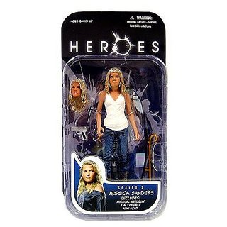 Heroes Mezco Toyz Action Figure Series 2 Action Figure - JESSICA VERSION!
