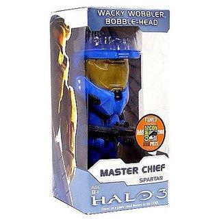 Funko Halo 3 2008 SDCC Exclusive Wacky Wobbler Master Chief Spartan Bobble-Head