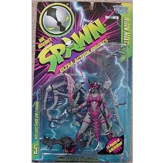 Spawn Widow Maker Series 5 Pink / Gray Action Figure