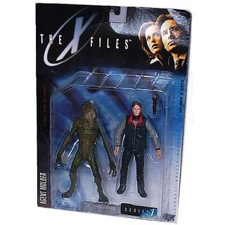 The X-Files: Fight The Future Movie Agent Fox Mulder Action Figure With Cryopod Chamber And Human Host
