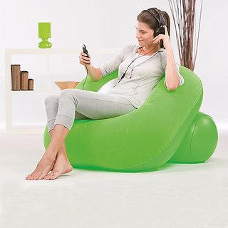 Bestway Comfort Quest Inflatable Nest Air Chair - Green
