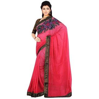 Triveni Multicolor Jute Lace Saree With Blouse