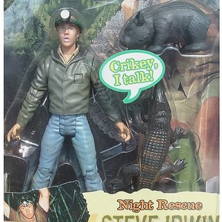 Steve Irwin Crocodile Hunter Talking Figure