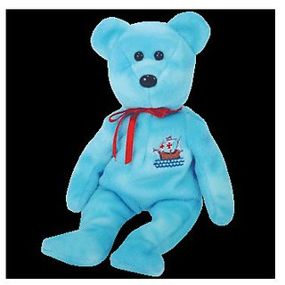 TY Beanie Baby - PINTA The Bear (Internet Exclusive)