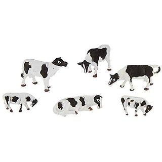Bachmann Trains Cows - Black And White