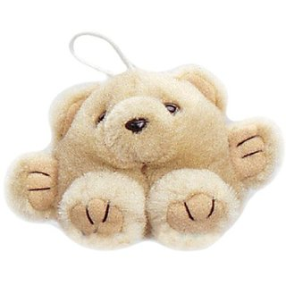 Purr-Fection Mini Patti Cushy Kid Tan Bear 3&Quot; Plush