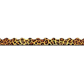 Trend Enterprises Leopard Terrific Trimmer, 2 1/4 In X 39 Ft, Brown, Tan/Black