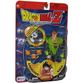 Android 16 Dragonball Z Action Figure - RARE Series 6 Toy