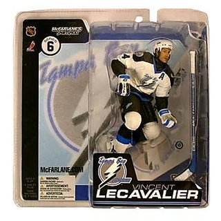 Mc Farlane Toys Nhl Sports Picks Series 6 Action Figure: Vincent Le Cavalier (Tampa Bay Lightning) White Jersey
