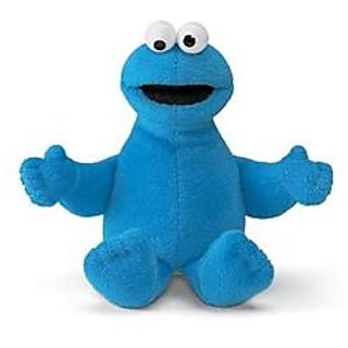 Sesame Street Cookie Monster Beans Plush Doll 9&Quot;