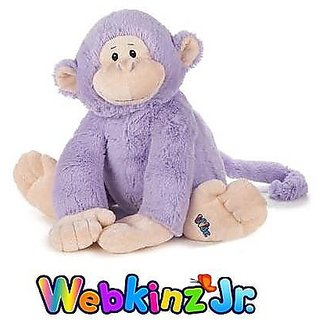 Webkinz Jr. Purple Monkey 12&Quot;