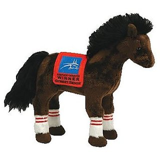 TY Beanie Baby - STREET SENSE The Horse (2007 Kentucky Derby Winner)
