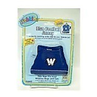 Webkinz Clothing Blue Football Jersey