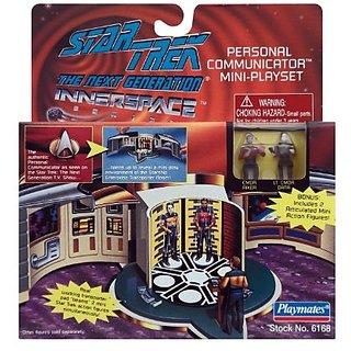 Star Trek Personal Communicator Mini Playset