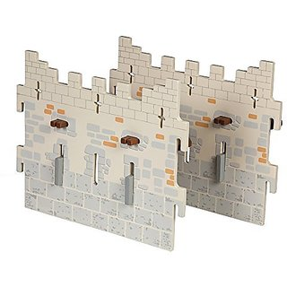 Papo Set 4 Weapon Master Castle (2 Large Walls)