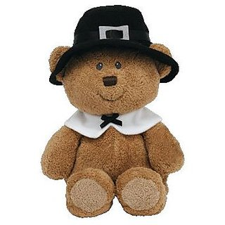 Ty Pluffies Lil Pilgrim - Bear (Barnes &Amp; Noble Exclusive)