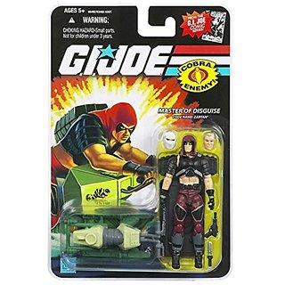 G.I. JOE Hasbro 3 3/4&Quot; Wave 11 Action Figure Zartan (Master Of Disguise)