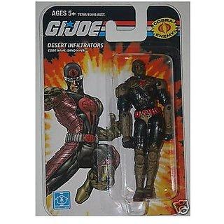 GI Joe Real American Hero SAND VIPER Desert Infiltrators 3.75? Action Figure ...