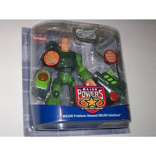 Playskool Major Powers And The Star Squad Sergeant Powerhouse Walker Action Figure Land Power Divisi