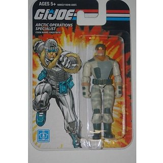 G.I. Joe Arctic Operations Specialist Frostbite Action Figure 2008 Series