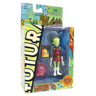 Futurama: Series 3 Action Figures - Kif Kroker Figure