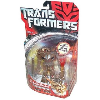 Transformers Movie Deluxe 6 Inch Tall Robot Action Figure - Decepticon Protoform STARSCREAM With Bla