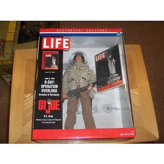 GI JOE D-DAY: OPERATION OVERLORD HISTORICAL LIFE EDITIONS FIGURE Toy