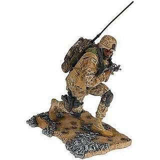 McFarlane'S Soldiers 2nd Tour Of Duty Marine Radioman African-American