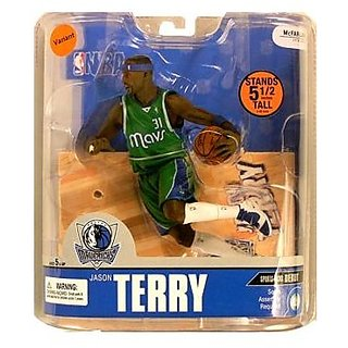 McFarlane Toys NBA Sports Picks Series 13 Action Figure Jason Terry (Dallas Mavericks) Green Jersey