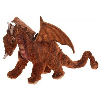Hansa Miniature Great Dragon - 10 Inches High