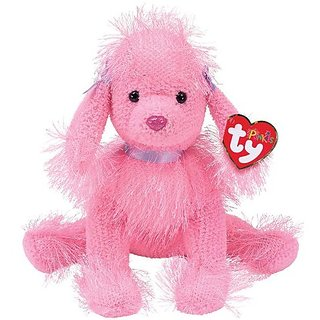 TY Punkies - FLAIR The Pink Poodle Dog