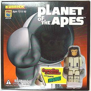 Kubrick Planet Of The Apes Cornelius As Astronaut