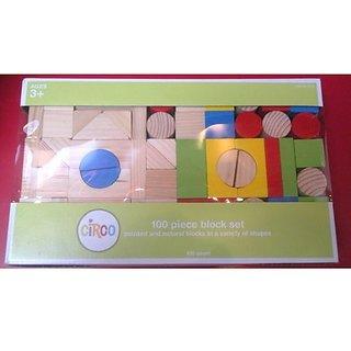 Circo 100 Piece Wood Block Set
