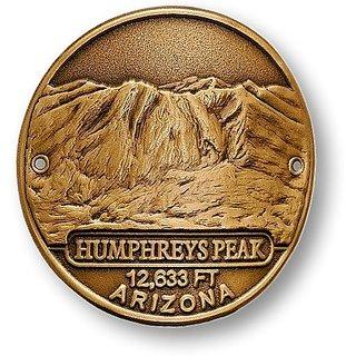 Humphreys Peak Hiking Stick Medallion