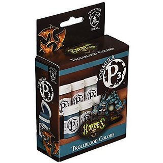 Privateer Press Formula P3 Trollblood Colors Model Kit