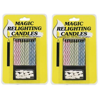 Amazing Magic Candle (Set Of 2)
