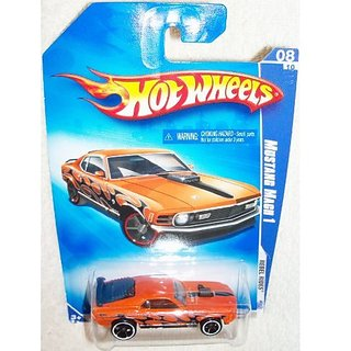 Hot Wheels 1970 Ford MUSTANG MACH 1 Rebel Rides 2009
